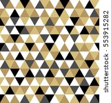 abstract geometric pattern.... | Shutterstock .eps vector #553915282