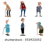 vector illustration of a six... | Shutterstock .eps vector #553923352