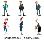 vector illustration of a three... | Shutterstock .eps vector #553923808