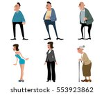 vector illustration of a three... | Shutterstock .eps vector #553923862