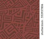 unique geometric vector... | Shutterstock .eps vector #553937806