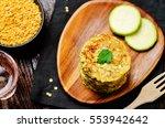 zucchini lentils oats parsley... | Shutterstock . vector #553942642