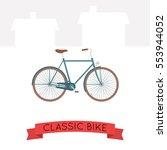 vector illustration of classic... | Shutterstock .eps vector #553944052