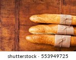 Fresh French Bread With Copy...