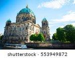 berlin cathedral. german... | Shutterstock . vector #553949872