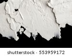 structural plaster white on a... | Shutterstock . vector #553959172