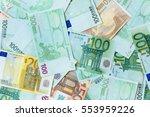 Euro Cash Background. Many Eur...