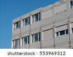 stacked housing containers  ... | Shutterstock . vector #553969312