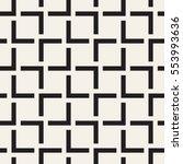 vector seamless pattern. modern ... | Shutterstock .eps vector #553993636