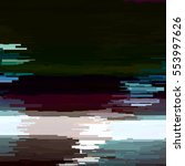 abstract background with glitch ... | Shutterstock .eps vector #553997626