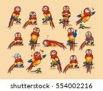set vector stock illustration... | Shutterstock .eps vector #554002216