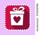 vector gift boxwith heart shape ...