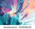 cold multicolor beautiful... | Shutterstock . vector #554038225