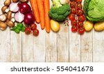 healthy food background.... | Shutterstock . vector #554041678