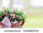 selective focus on some blossom ... | Shutterstock . vector #554082952