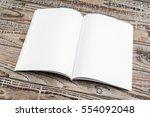 blank catalog  magazines book... | Shutterstock . vector #554092048