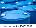 chemical plant  plastic storage