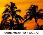 Beautiful Tropical Sunset Sky...