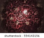 flower background and texture  | Shutterstock . vector #554143156