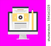 web design icon flat design