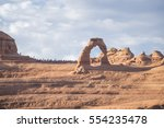 delicate arch in arches np  utah   Shutterstock . vector #554235478