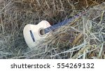 Music Instrument Guitar On The...