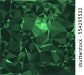 emerald stone background vector ...