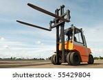 Forklift Loader For Warehouse...