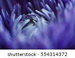 macro art abstract. flower in... | Shutterstock . vector #554314372
