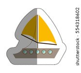 Isolated Sailboat Design