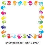 Click to reveal a promo code Handprint Clipart Border