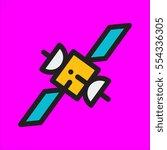 van icon flat design