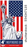 statue of liberty  nyc  usa...   Shutterstock .eps vector #554347135