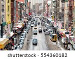 new york  new york   january 8  ... | Shutterstock . vector #554360182