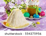 Easter Background. The...