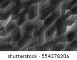 dark abstract 3d background | Shutterstock . vector #554378206