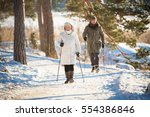 winter sport in finland  ... | Shutterstock . vector #554386846