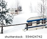 campside with several rv in... | Shutterstock . vector #554424742