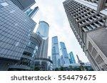the skyscraper external... | Shutterstock . vector #554479675