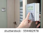 alarm system | Shutterstock . vector #554482978
