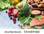 Selection of healthy food for...