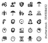 business ultimate icons   gray... | Shutterstock .eps vector #554508652