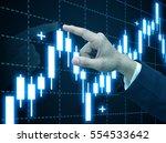 trading stock | Shutterstock . vector #554533642