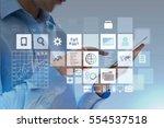 business. | Shutterstock . vector #554537518