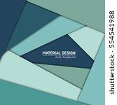 vector material design... | Shutterstock .eps vector #554541988