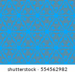 decorative wallpaper design in... | Shutterstock . vector #554562982