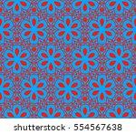 modern geometric seamless...   Shutterstock . vector #554567638