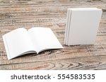 blank catalog  magazines book...   Shutterstock . vector #554583535