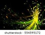 abstract background  fiber... | Shutterstock . vector #554595172