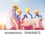 business  building  teamwork... | Shutterstock . vector #554630872